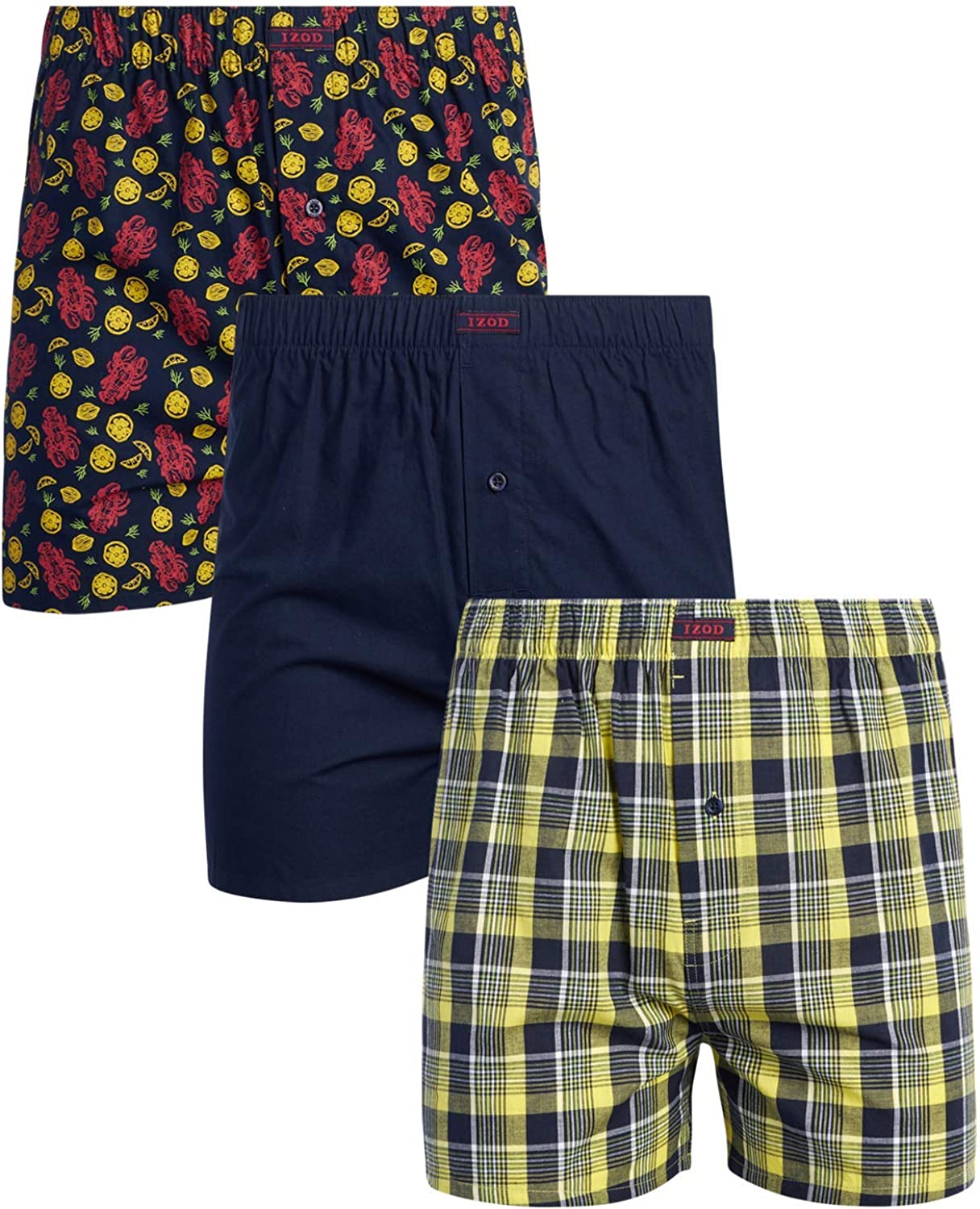 IZOD Men's Underwear – Max 71% OFF Cotton ! Super beauty product restock quality top! with Boxers Functi Woven