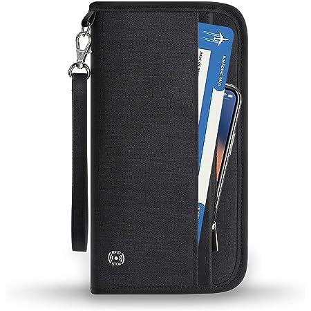 Travel-Wallet-Document-Bag-Organiser-Passport-Ticket-ID-Holder-PortableUK