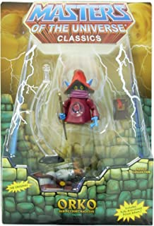 Masters of the Universe Classics He-Man Orko figure with Prince Adam MOTU