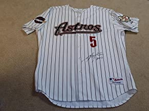 Signed Jeff Bagwell Jersey - 2005 World Series Game HOF - Tristar Productions Certified - Autographed MLB Jerseys