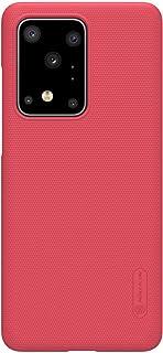 جراب خلفي سوبر فروستد لموبايل سامسونج جالاكسي S20 الترا من نيلكين - احمر
