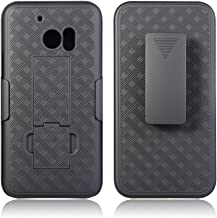 HTC 10 Case , BNY-WIRELESS(TM) Super Slim Hard Shell Shield Layer Holster Case with Kickstand and Belt Swivel Clip for HTC 10