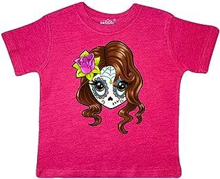 inktastic Cute Sugar Skull Girl Toddler T-Shirt