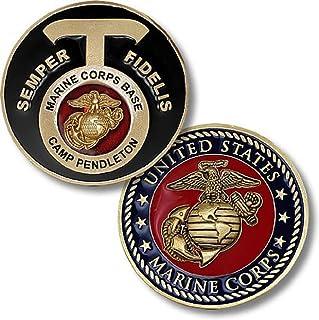 小さくてコンパクト 米国海兵隊ベースキャンプペンドルトン、カリフォルニアチャレンジコイン