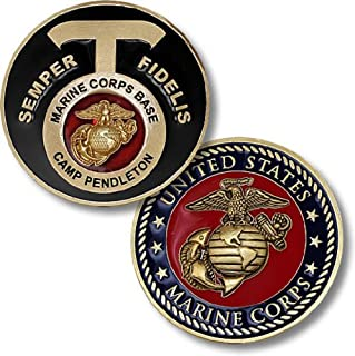 camp pendleton challenge coin
