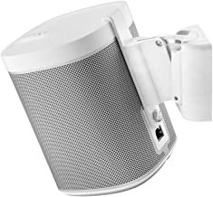 Cavus Wall Mount Sonos Play 1 - Wall Bracket Suitable for Sonos Play 1 - CMP1W - White