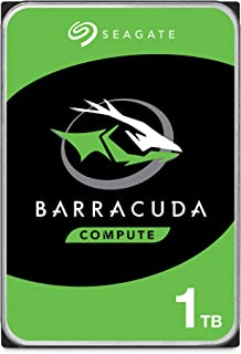 Seagate BarraCuda, 1 TB, Disco duro interno, HDD, 3,5