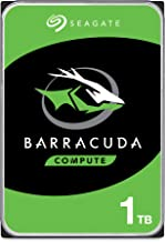 Seagate BarraCuda 1TB Internal Hard Drive HDD – 3.5 Inch SATA 6 Gb/s 7200 RPM 64MB Cache for Computer Desktop PC (ST1000DM...