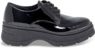 JANET SPORT Luxury Fashion Womens JSPO44785 Black Lace-Up Shoes | Fall Winter 19