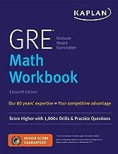 GRE Math Workbook: Score Higher with 1,000+ Drills & Practice Questions (Kaplan Test Prep)