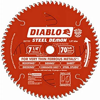 Diablo D0770F Steel Demon Ferrous Cutting Saw Blade