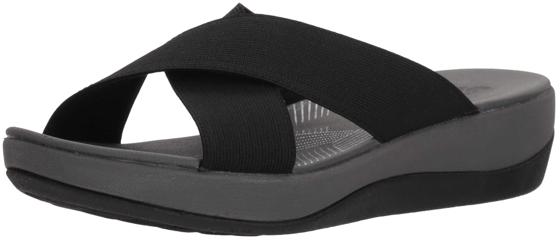 CLARKS Womens Sandal Textile Medium