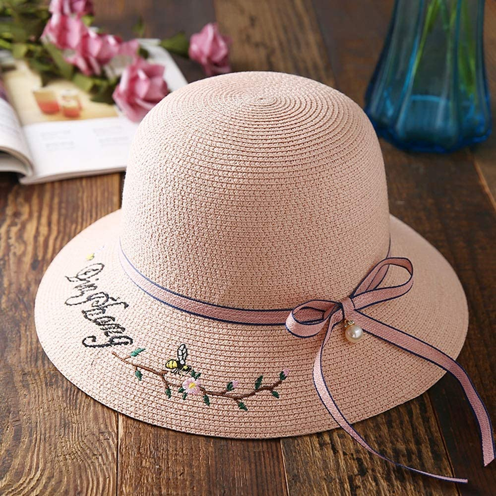 Challenge the lowest price of Japan ☆ YD Hat Limited Special Price - Women's Straw Summer Protection Travel Folding UV S