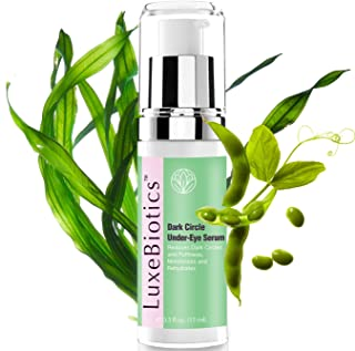 LuxeBiotics Under Eyes Dark Circle,Eye Puffiness,Eye Bags,Wrinkles Treatment Remover NATURAL serum