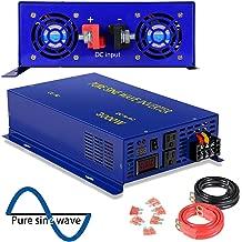 XYZ INVT Pure Sine Wave Inverter - 3000w Power Inverter 48v dc to 120v ac (3000w/48v)