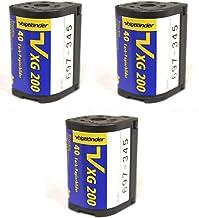Voigtlander APS Film ISO 200-40 Exposures (3-Pack)