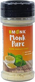 BMONK | Monk Pure Sweetener | Monk Fruit Extract 7% & v25% | KETO | Vegan | NON-GMO| KOSHER | ZERO CALORIE | ZERO CARB | 1...