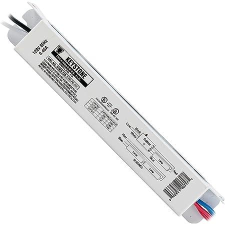 F13T5 + F8T5 Keystone KTEB-213-1-TP-SL-MB Fluorescent Ballast For 2 x F13T5 or