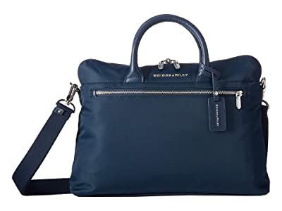 Briggs & Riley Rhapsody Slim Medium Business (Navy) Briefcase Bags