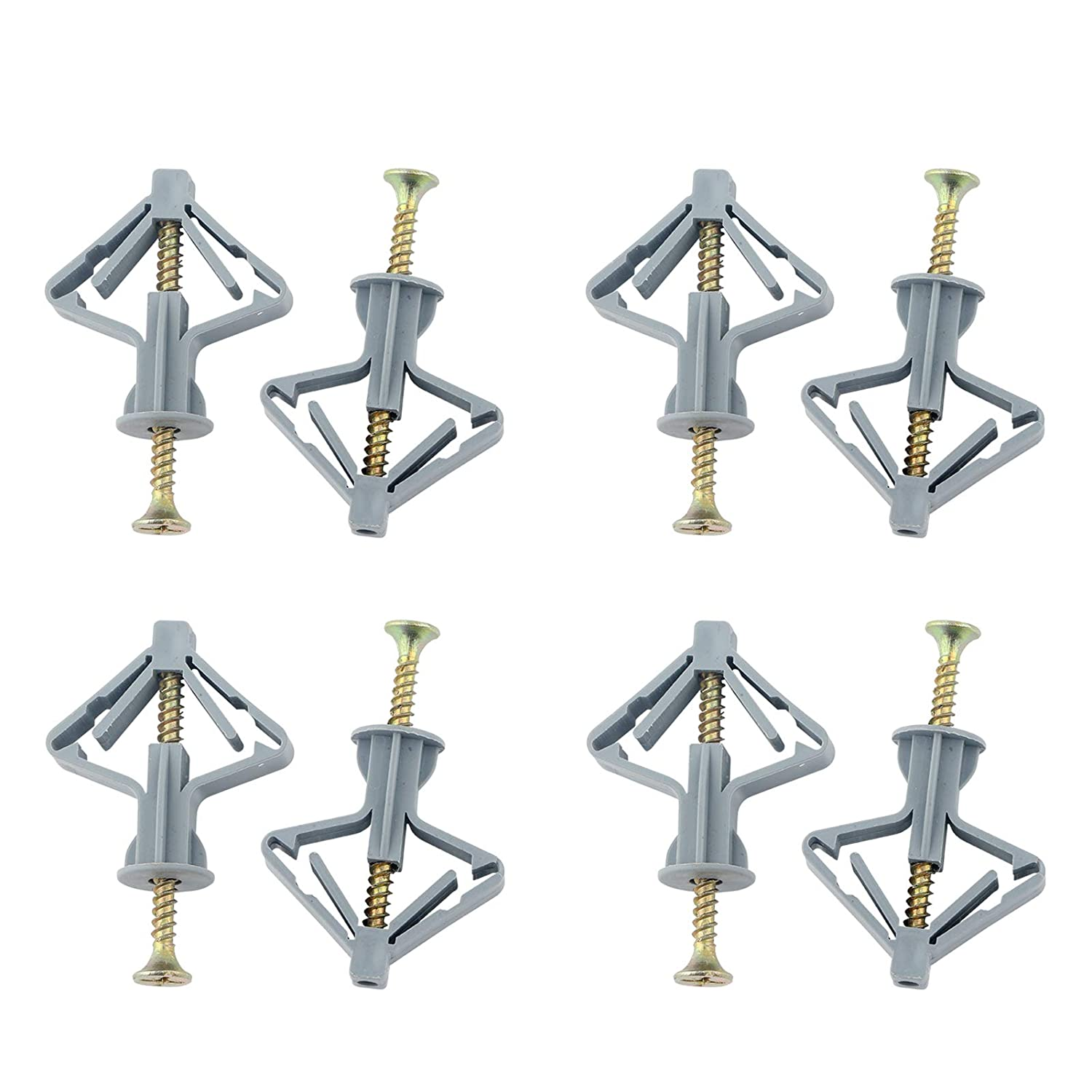 200pcs Drywall Anchor Kit-Hollow Wall Finally resale start Screws Drywa New products, world's highest quality popular! with Anchors