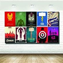 stampepersonalizzate.com - Imprimir en Lienzo - Formato Canvas - Formato 84X50 Solo Lienzo - Imprimir en Calidad fotográfica - Pinturas Cómics y cartones - Marvel Universe
