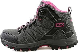 05208e83ba44 tqgold® Scarpe da Trekking Uomo Donna,Impermeabile Scarpe da Escursionismo  Arrampicata Stivali in Pelle