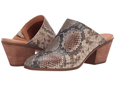 FRYE AND CO. Jacy Mule (Taupe Snake Embossed Leather) Women
