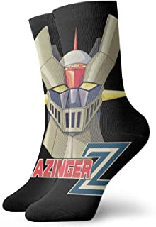 Yuanmeiju calcetines de punto Soft And Breathable Socks Mazinger Z Unisex ty Polyester Breathable Socks