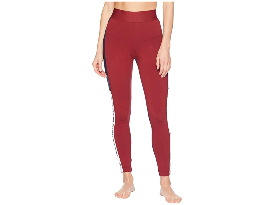 adidas Sport ID Tights (Noble Maroon/Legend Ink/White) Women