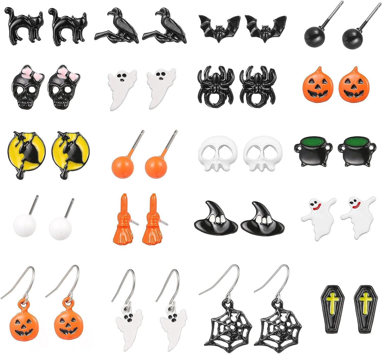 Halloween Dangle Earrings for Pum Opening large release sale Theme Wholesale Women