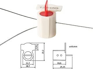 Tengxin Water Meter Seal With Barcode Water Meter Copper Wire Seal Electric Meter Tampering Seal(pack of 100)