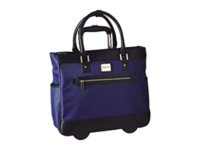Kenneth Cole Reaction Call It Off Nylon Wheeled Tote (Navy) Pullman Luggage