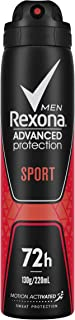 Rexona Men Advanced Protection Sport Antiperspirant Deodorant Spray, 220 ml