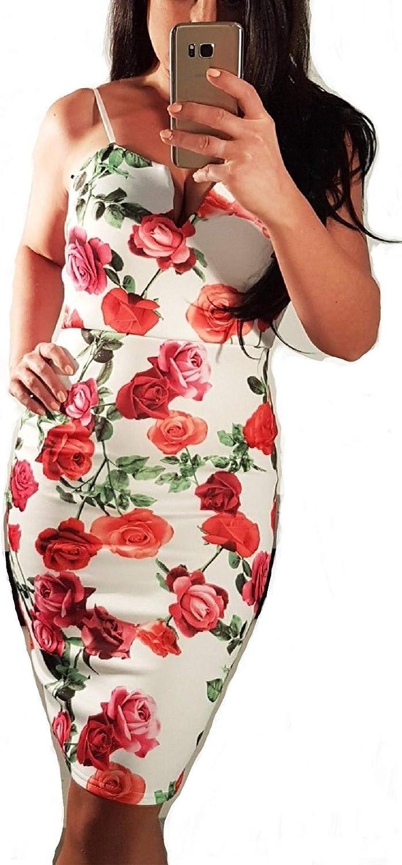 Malabay by Vogue Style 95 Spaghetti Strap Bodycon Dress, VNeck Line Dress