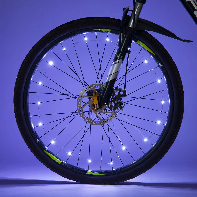 6pcs Night Ride Lights Car Bicycle Bike Cycling Wheel Tire Spoke LED Lights Lamp