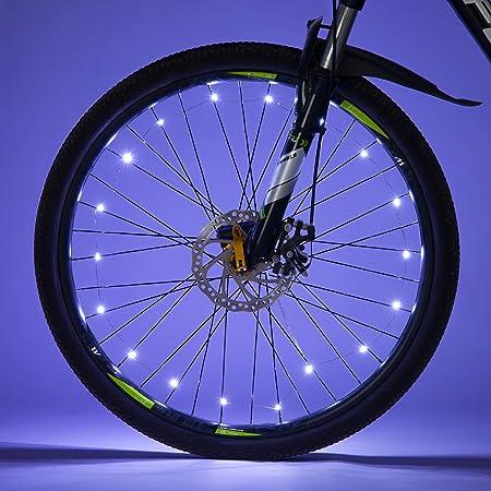 Details about  /30 Pattern LED Bicycle Bike Cycling Rim Wheel Light Flash Spoke Light Waterproof