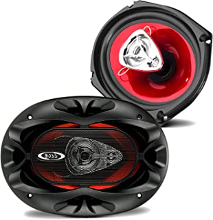 BOSS Audio Systems CH6930 Car Speakers - 400 Watts of Power Per Pair, 200 Watts Each, 6 x 9 Inch, Full Range, 3 Way, Sold ...