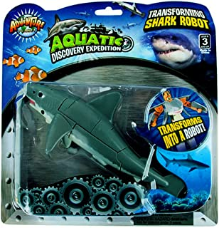 Aquatic Discovery Expedition Transforming Great White Shark to Robot Toy ~ 5