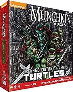IDW Games Teenage Mutant Ninja Turtles Munchkin Card Game