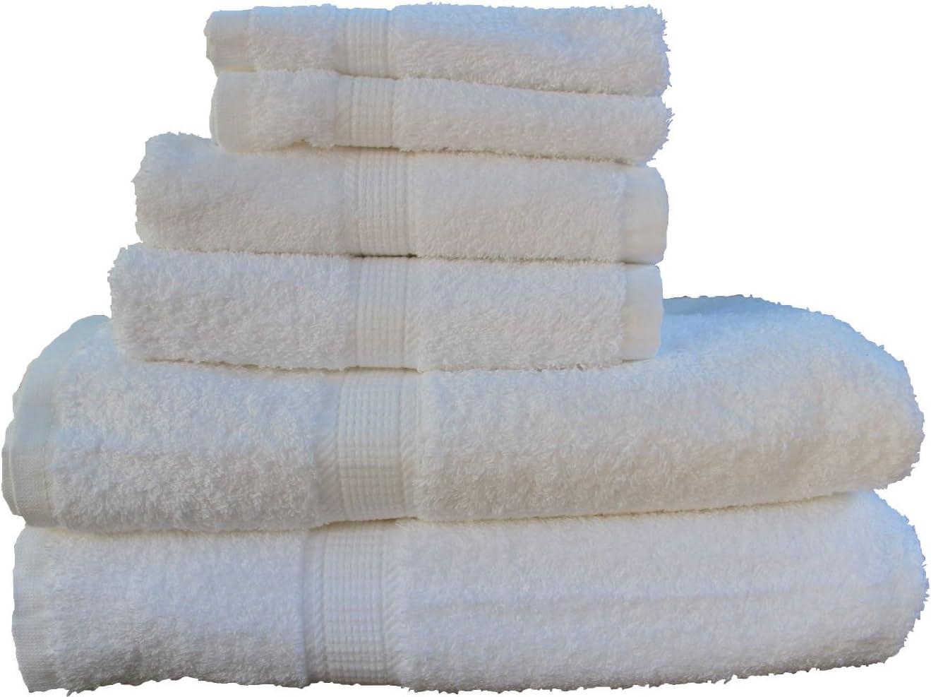 San Vincente Platinum Luxurious Linen Bath Industry No. Deluxe 1 Set--white