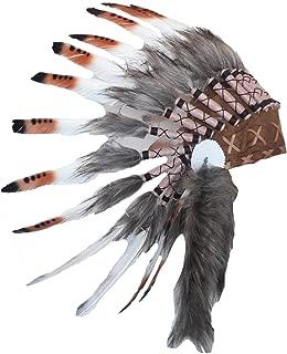 Theworldoffeathers Baby Indian Headdress 9 to 18 Years