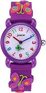 Orologio analogico da polso per bambine, bambini sport impermeabile 3D cute Cartoon per bambini, ragazzi ragazze insegname...