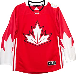 adidas Canada World Cup of Hockey 2016 Red Men's Premier Big Size Jersey