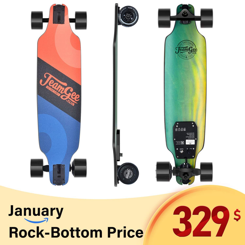 Teamgee Electric Skateboard Longboard Wireless