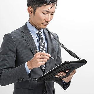 サンワダイレクト タブレット ショルダーケース 7.9~10.5インチ対応 スタンド機能付き 10.2インチiPad / iPad Air 2019 / iPad mini 2019対応 200-TABC017