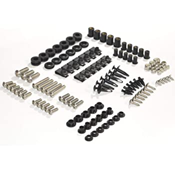 Complete Fairing Bolts Screws Fasteners Kit Set 1999 2000 F4 2001 2002 2003 2004 2005 2006 2007 CBR600 F4i