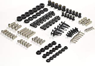 Complete Motorcycle Fairing Bolt Kit For Suzuki GSX-R600 / GSX-R750 2004-2005 Body Screws, Fasteners, and Hardware