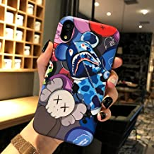 Kplvet iPhone XR Case,IMD Tech Top Sleek Smooth Feeling Anti Scratch Non Faded Coloring Premium Soft TPU Slim Fit Case for 6.1 iPhone-XR,Street Fashion Trend Protective Phone Cover (ShaYu Bear)