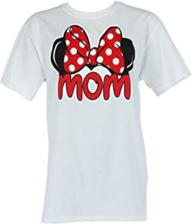 Disney Adult Plus Size Womens T-Shirt Mom Family Tee