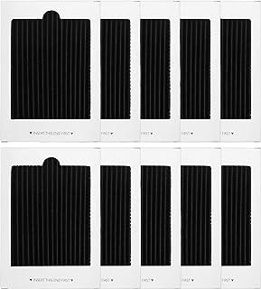 KEYJINIU 10 Pack Refrigerator Air Filter Replacement, Activated Carbon Air Ultra Air Filter for SCPUREAIR2PK, EAFCBF PAULT...